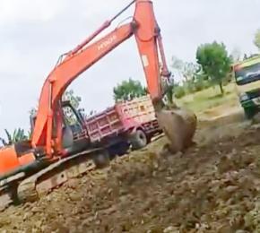 Diduga Ilegal, Pertambangan Galian Tanah Marak di Lamongan