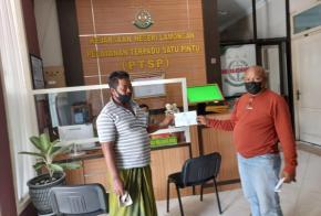 Diduga Selewengkan Dana Desa Tahun 2019-2020, Kepala Desa Kuro Dilaporkan ke Kejari Lamongan